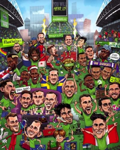 Sounders FC Epic 2018