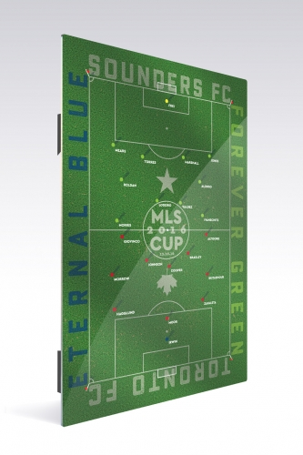 Sounders FC MLS CUP 2 | Chroma 12 x 18 2016