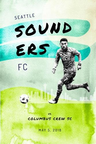 Sounders FC vs Columbus Crew SC 2018