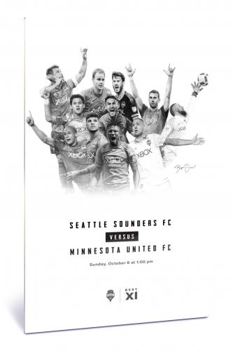 Sounders FC vs Minnesota United FC | Chroma 12 x 18 2019