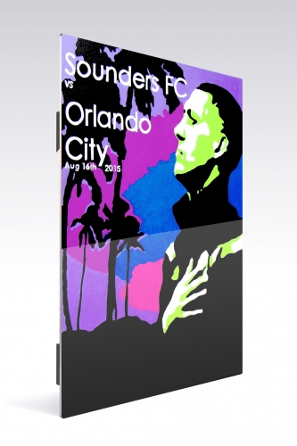 Sounders FC vs Orlando City | Chroma 12 x 18 2015