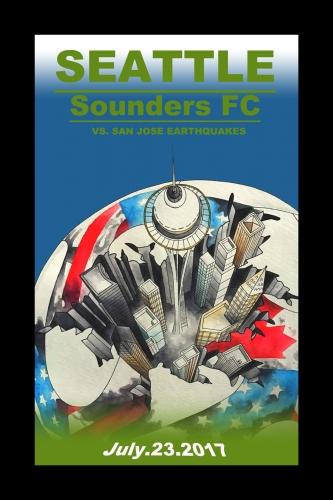Sounders FC vs San Jose Earthquakes 2017