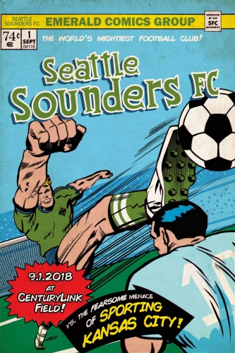 Sounders FC vs Sporting Kansas City 2018
