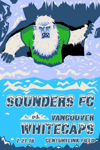 Sounders FC vs Vancouver Whitecaps FC 2018