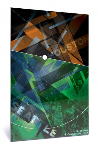 Sounders FC vs Houston Dynamo | Chroma 12 x 18 2018