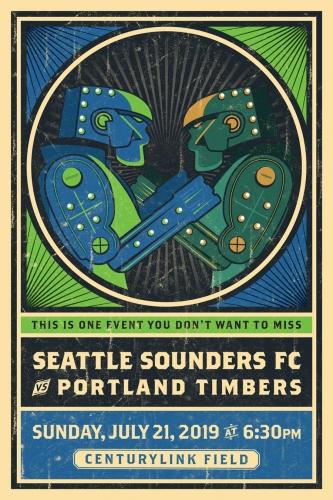 Sounders FC vs Portland Timbers 2019